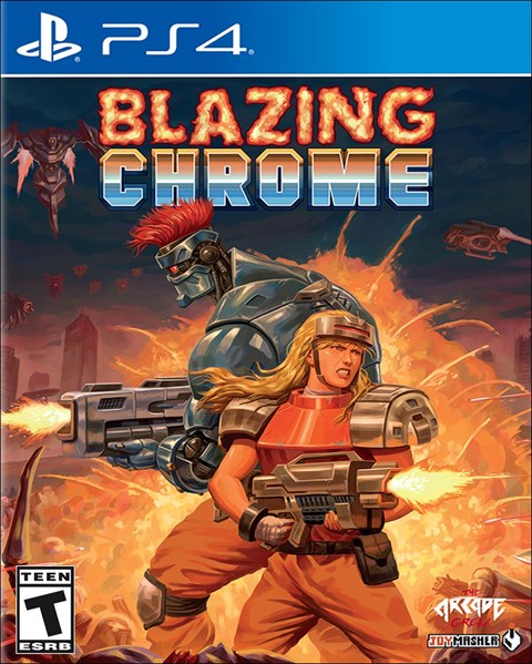 Blazing Chrome poster