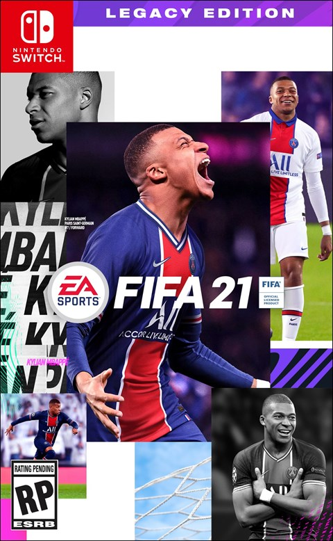 FIFA 21 - Legacy Edition poster