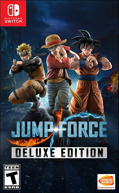 Jump Force - Deluxe Edition poster