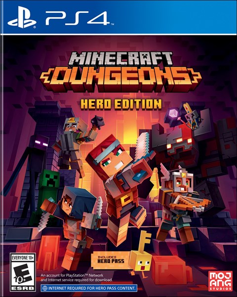 Minecraft Dungeons: Hero Edition poster