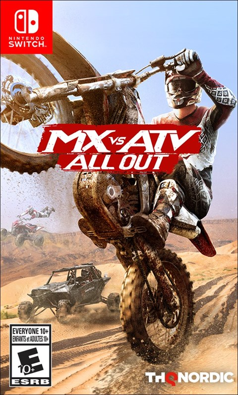 MX vs ATV: All Out poster
