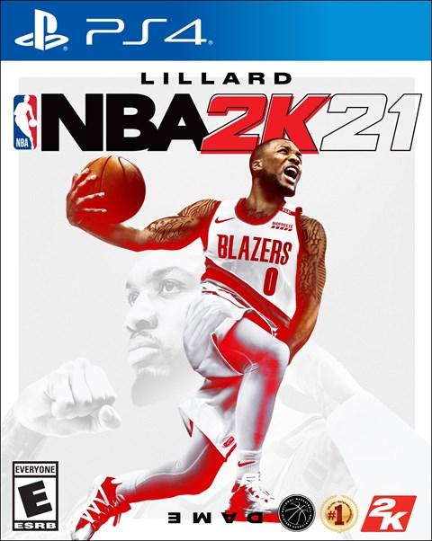 NBA 2K21 poster