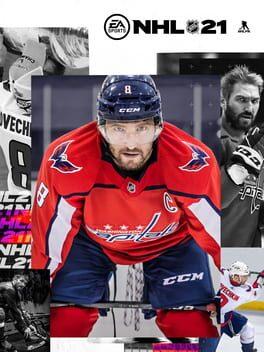 NHL 21 poster