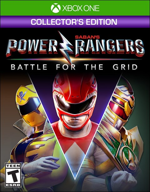Power Rangers: Battle for the Grid - Collector's Edition poster