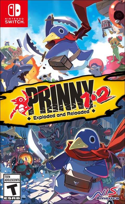 Prinny 1·2: Exploded and Reloaded poster