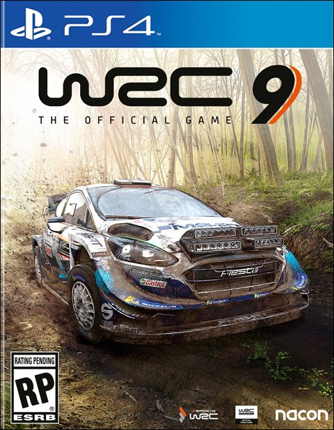 WRC 9 poster