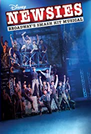 Disney's Newsies: The Broadway Musical poster