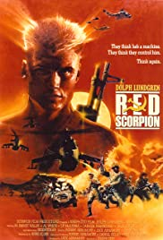Red Scorpion poster