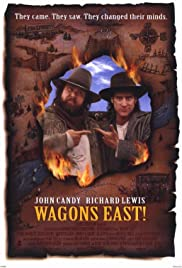 Wagons East poster